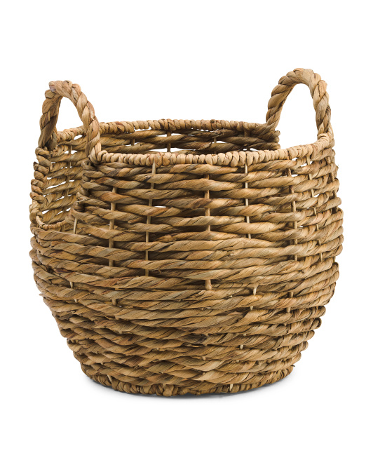 Made In Vietnam Medium Twist Round Basket $19.99