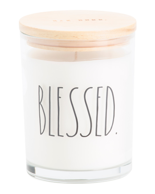 Blessed Citrus Summit Glass Candle $12.99