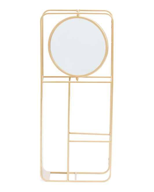 BREWSTER Aubi Shelf With Mirror $59.99