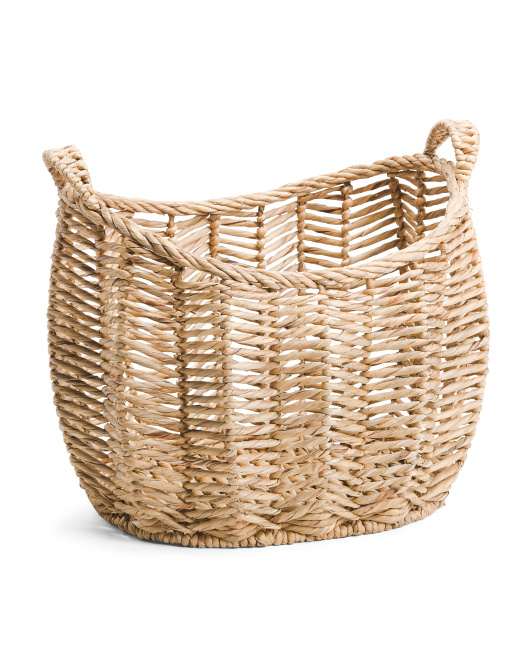 Made In Vietnam Large Twist Oval Basket$29.99