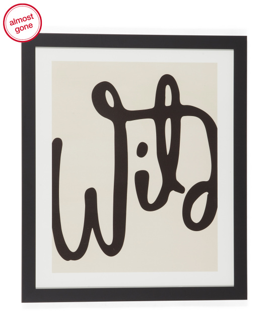 DENY DESIGNS Urban Studio Supply Wild Abstract Wall Decor $29.99