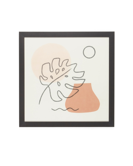 DENY DESIGNS 20x20 Madeline Martinez A Warm Feeling Wall Art $29.99 https://fave.co/2uS9CWV