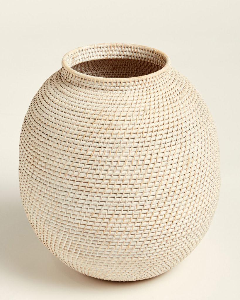 UMA Woven Wooden Vase $59.99