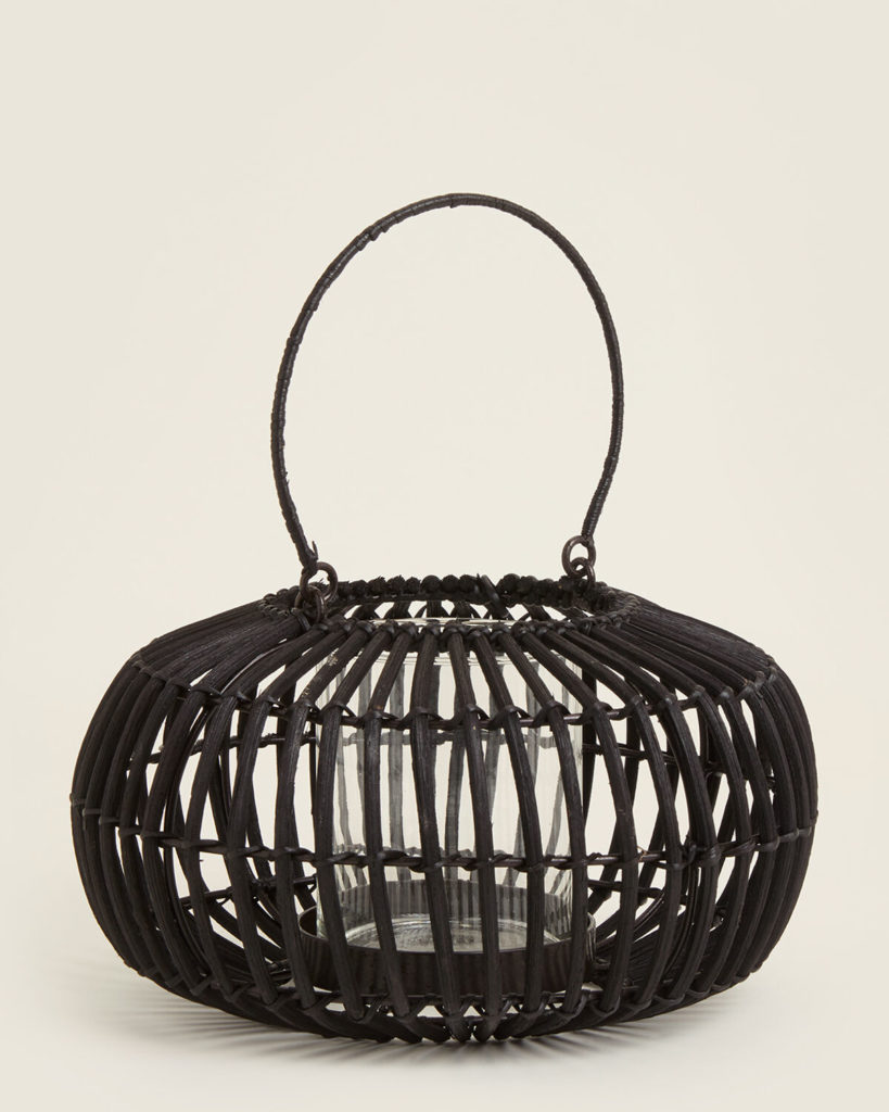 EIGHTMOOD Black Meyer Natural Lantern$14.99