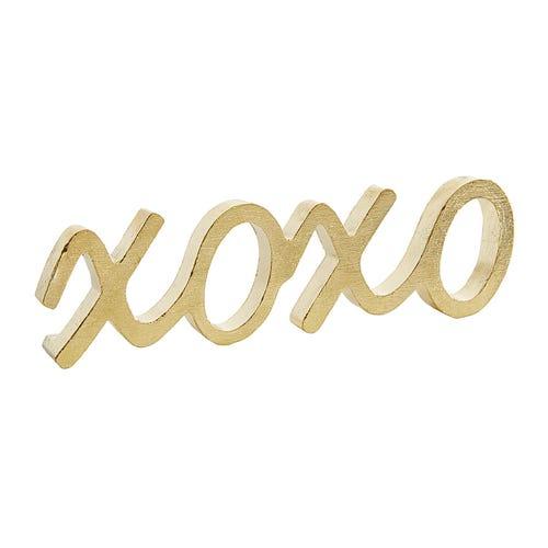 XOXO Gold Metal Decoration $6.39