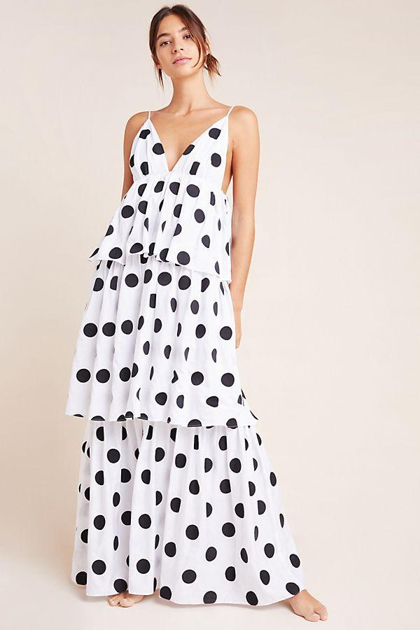 Mara Hoffman Bari Tiered Maxi Dress $395.00