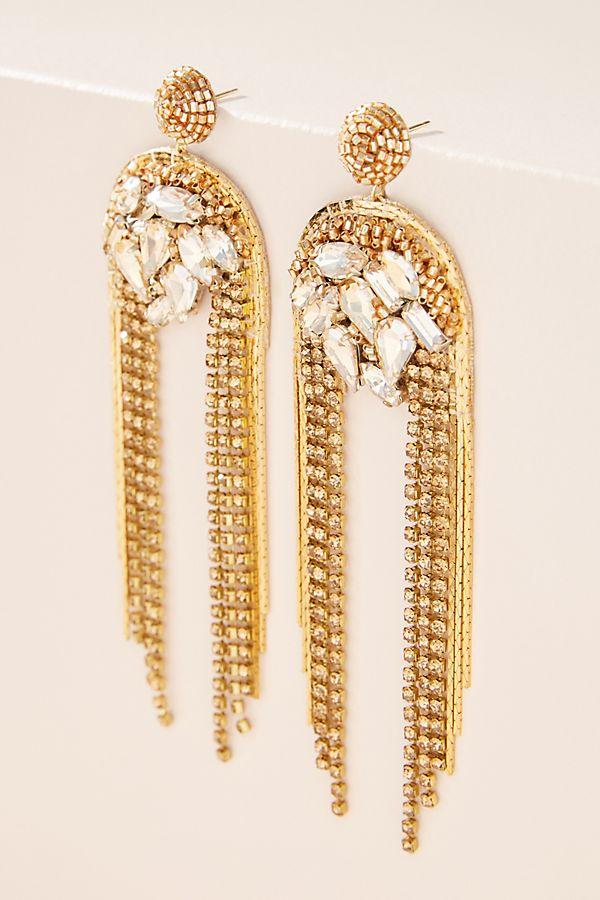 Deepa Glam Drop Earrings$228.00