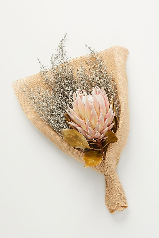 Protea & Stoebe Mixed Floral Bouquet$44.00