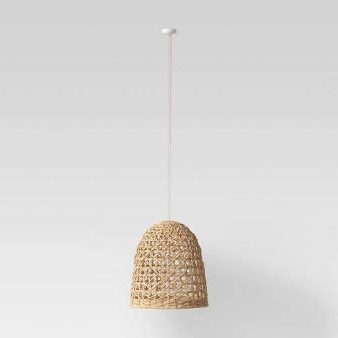 Small Seagrass Light Pendant Light Brown (Includes Energy Efficient Light Bulb) - Opalhouse™ $129.00