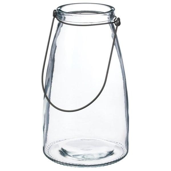 Glass Lantern Vase $28.99