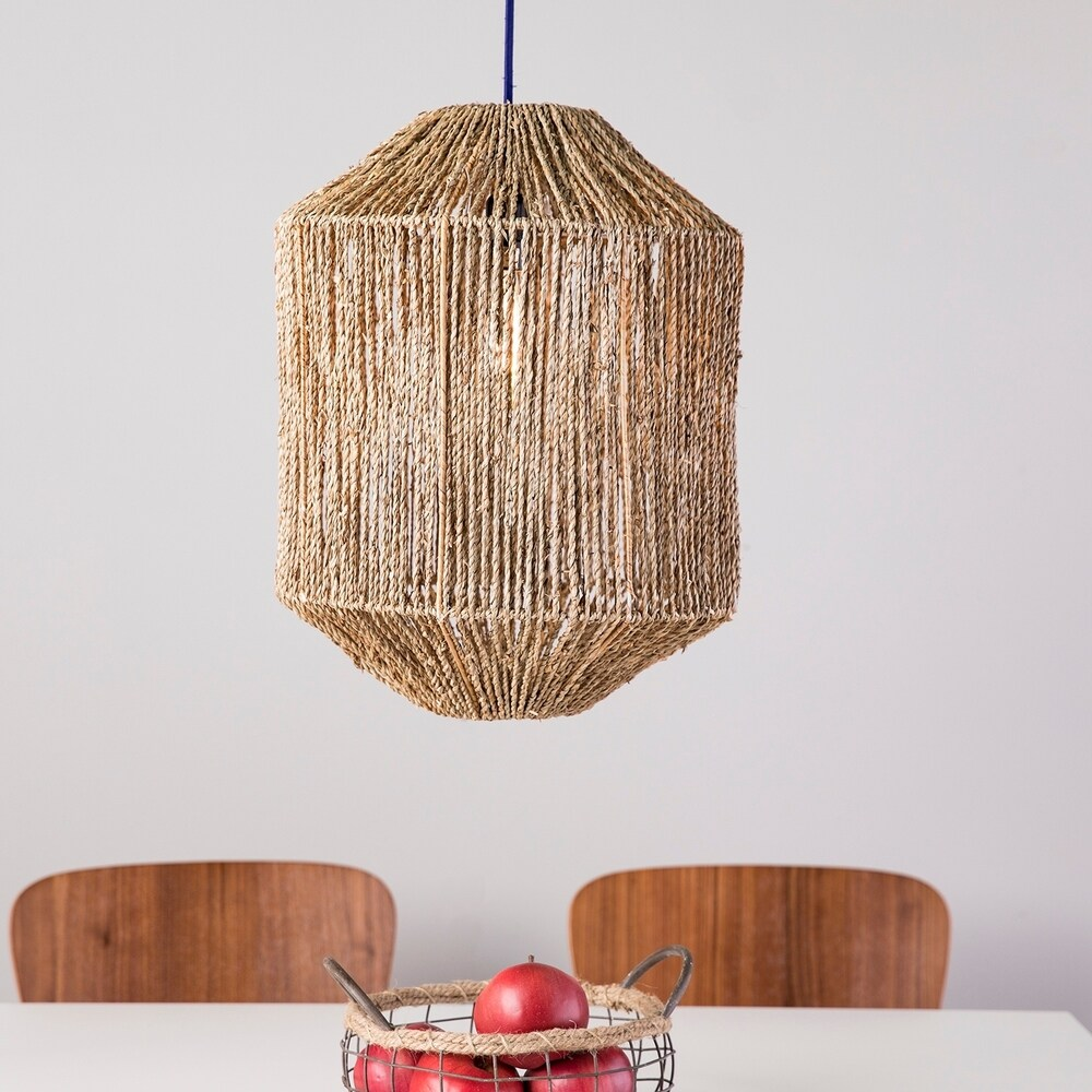 The Curated Nomad Westlake Seagrass Pendant Shade $44.99
