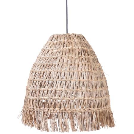 Fixture includes a natural straw shade $205.50