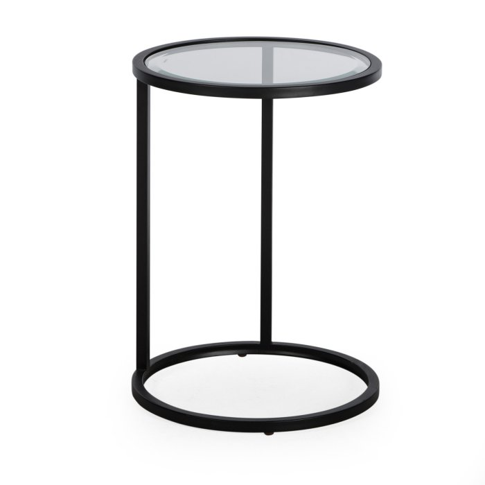 Belham Living Lamont Round C-Table - Black $79.00