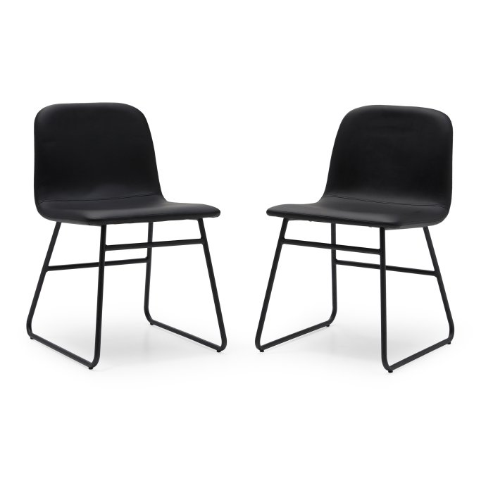 MoDRN Industrial Dax Dining Chair - Set of 2 $139.00