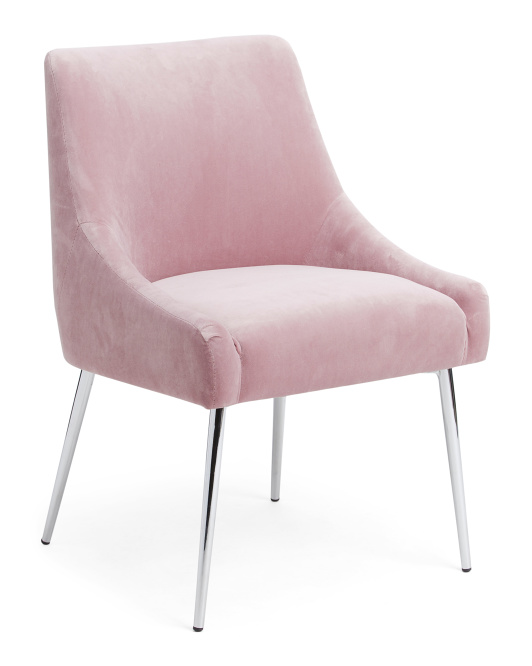 TAINOKI Kelsey Velvet Accent Chair$129.99