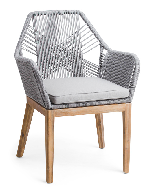LILLIAN AUGUST Rope Crossweave Armchair $149.99