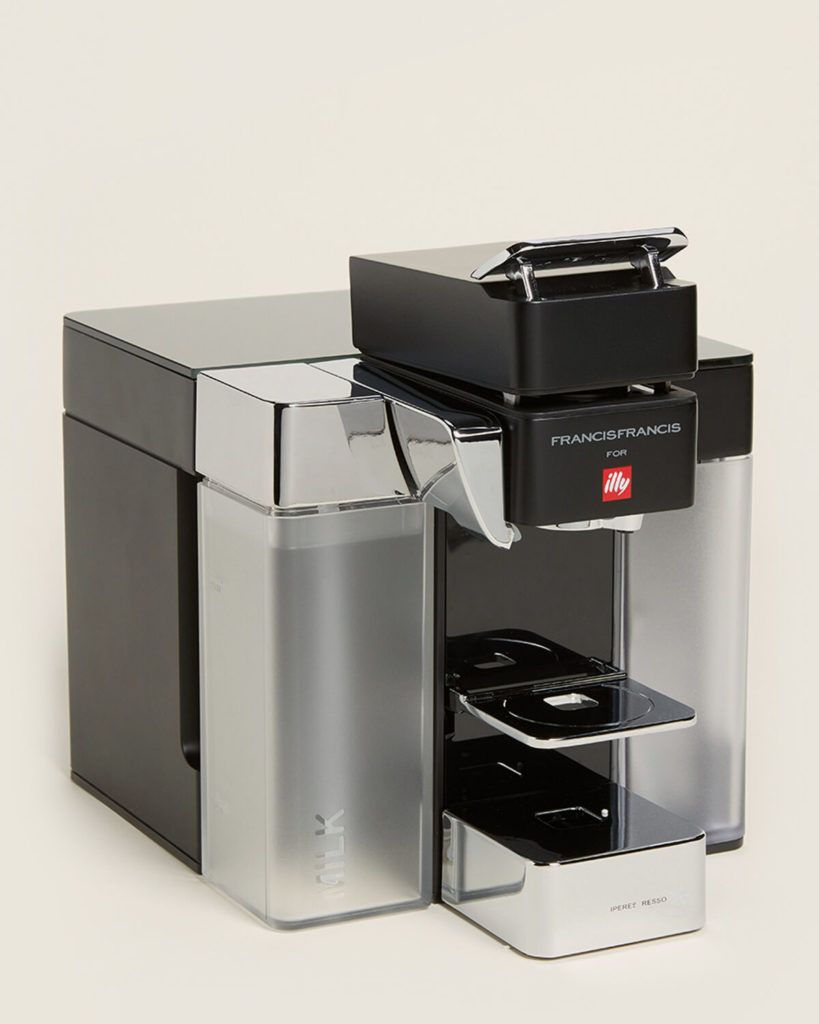 ILLY Black Y5 iperEspresso Milk, Espresso & Coffee Machine $169.99