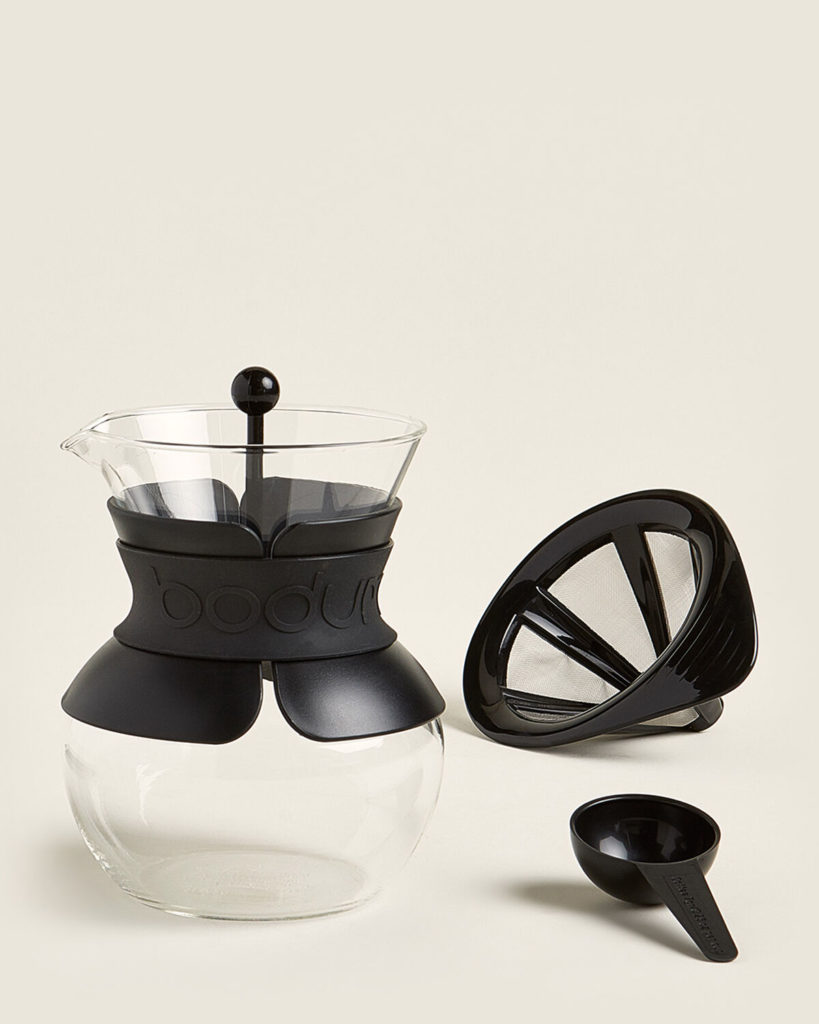 BODUM Pour Over Coffee Maker with Permanent Filter$14.99
