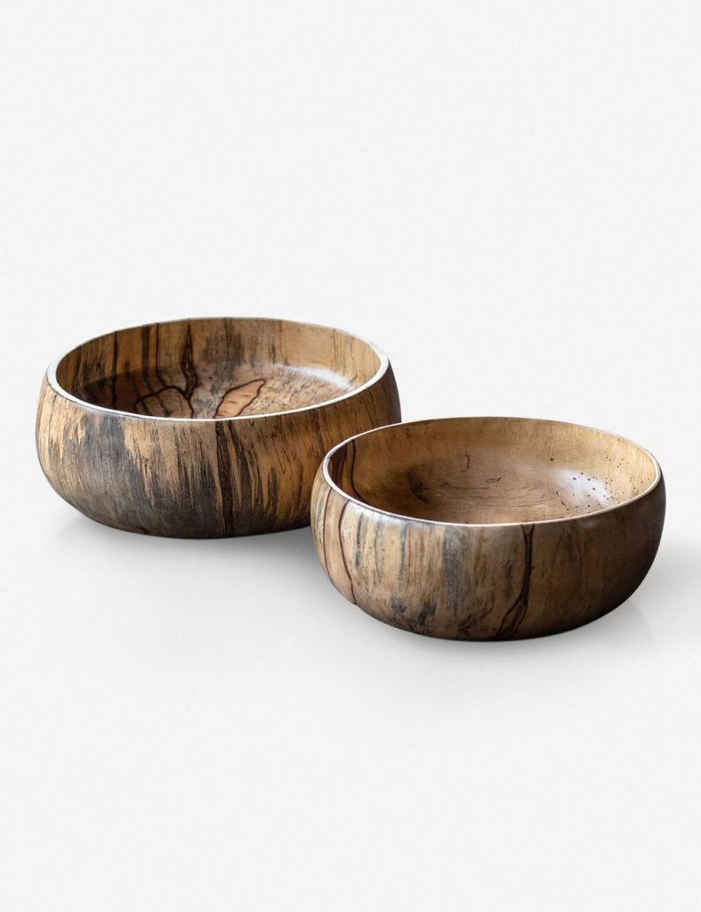MASAI BOWLS, SET OF 2 $185