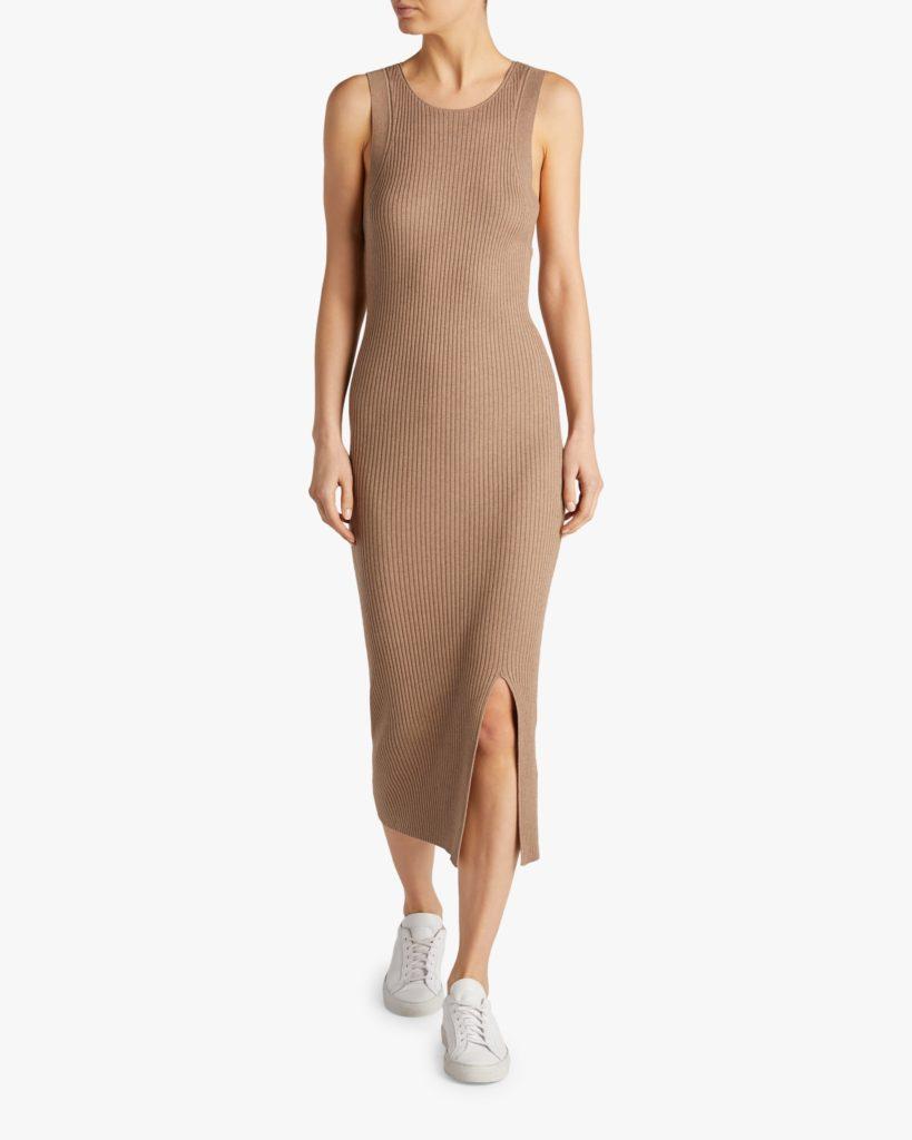 Naadam Sleeveless Ribbed Dress $295.00