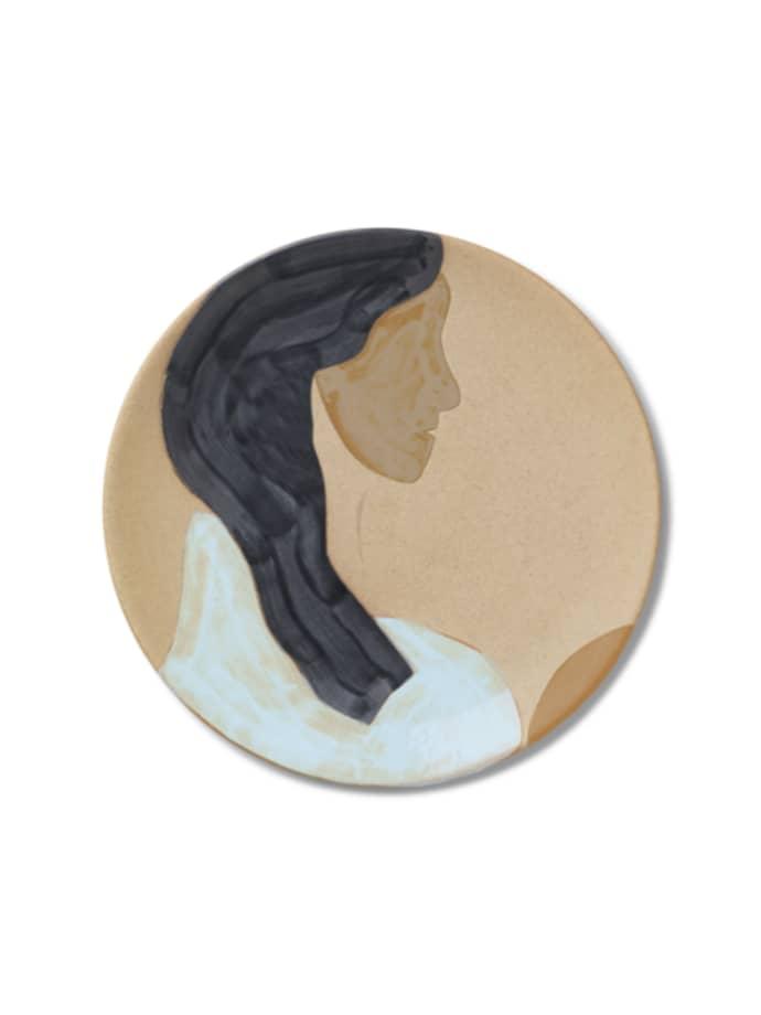 Multi Hessa Ceramic Platter $123.99