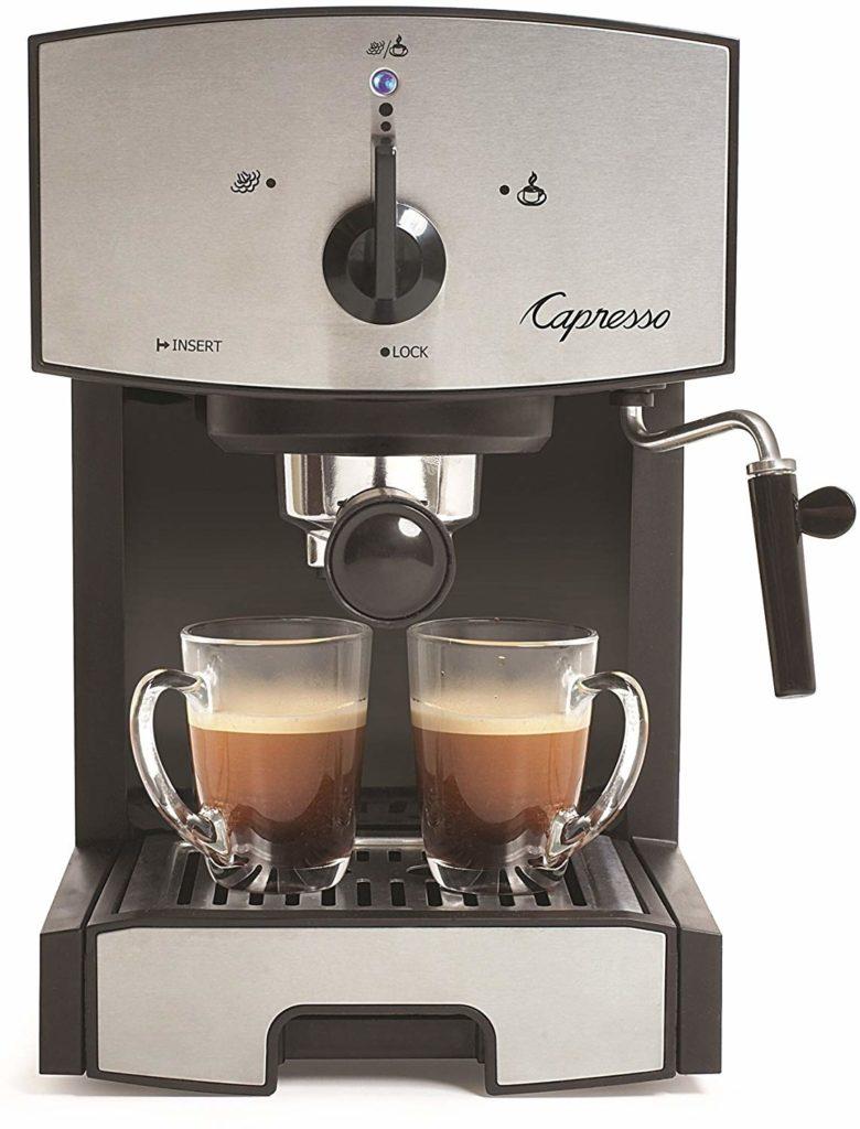 Capresso 117.05 Stainless Steel Pump Espresso and Cappuccino Machine EC50 $85.99