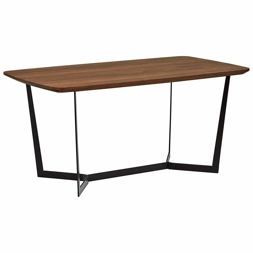 Rivet Modern Industrial Pedestal Dining Room Table $396.35