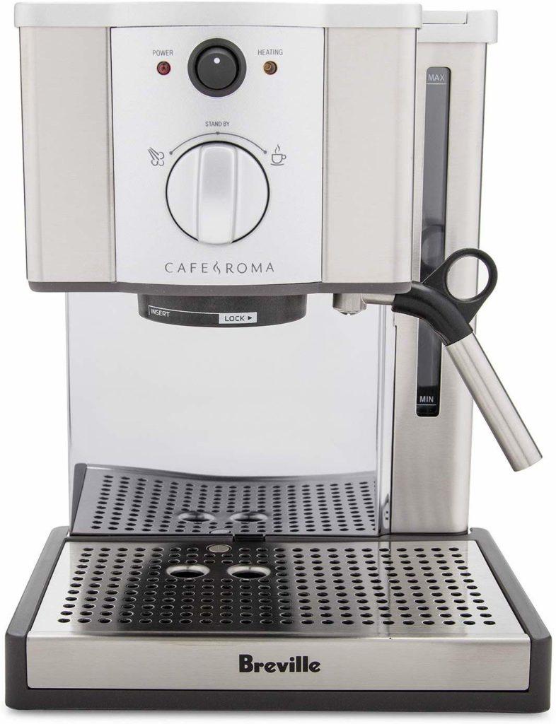 Breville ESP8XL Cafe Roma Stainless Espresso Maker $179.79