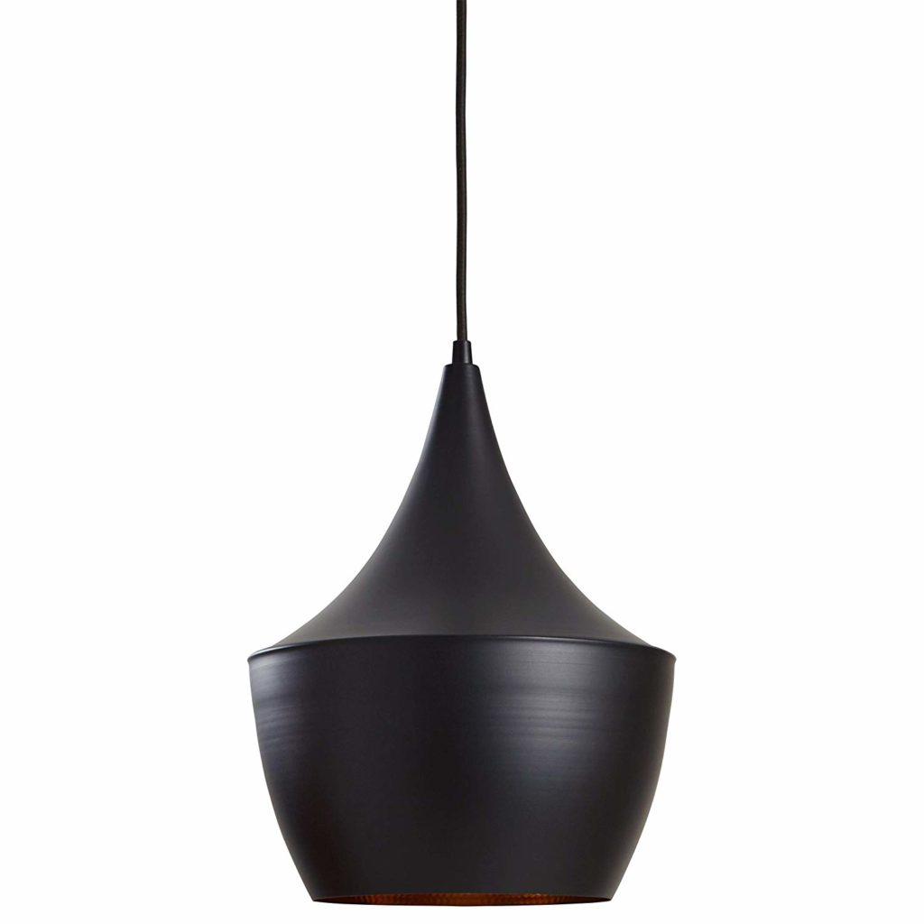 "Rivet Industrial Pendant Light with Bulb, 63\""H, Black $56.16"