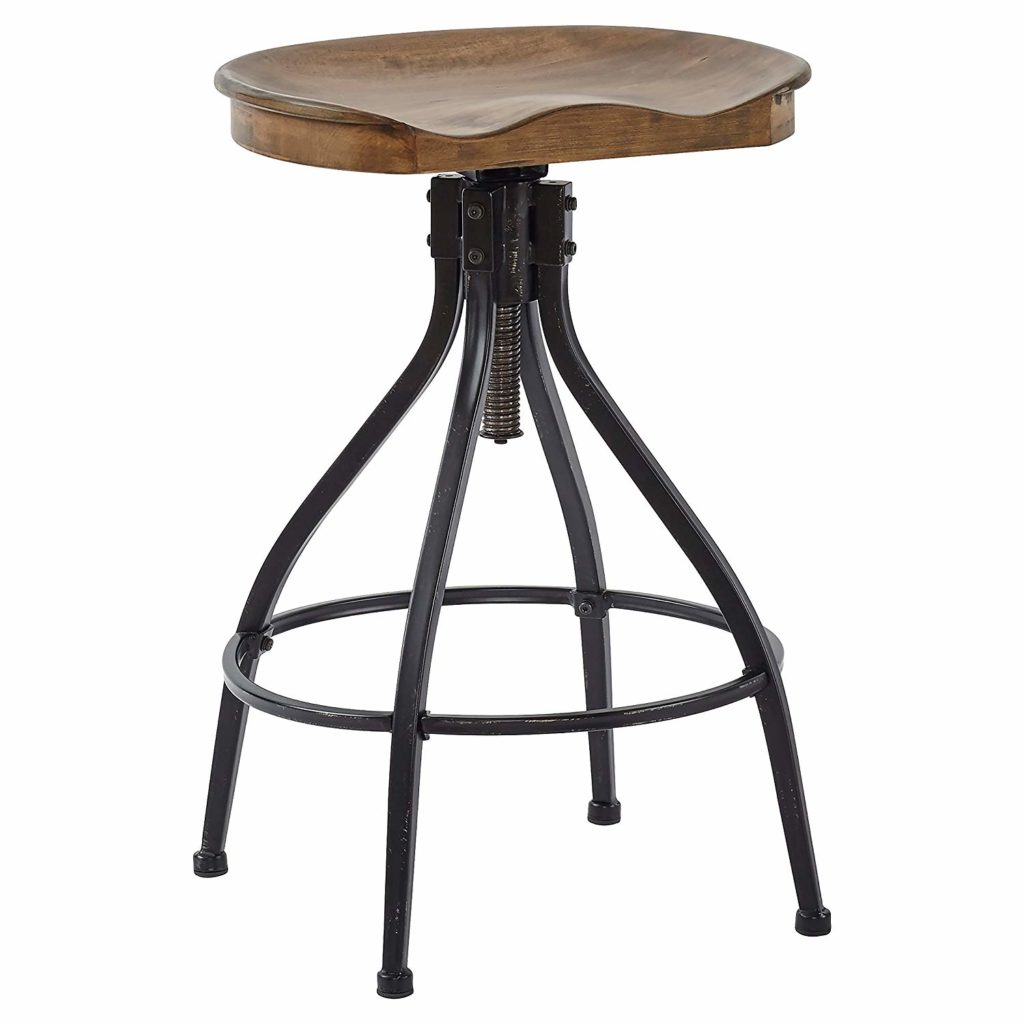 Stone & Beam Industrial Swivel Kitchen Dining Room Counter/Bar Stool $147.41