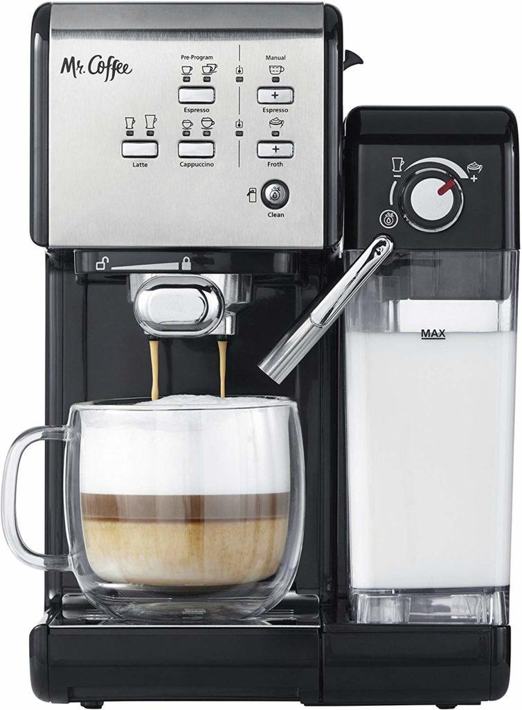 Mr. Coffee One-Touch CoffeeHouse Espresso Maker $344.47https://fave.co/2wtdGxQ