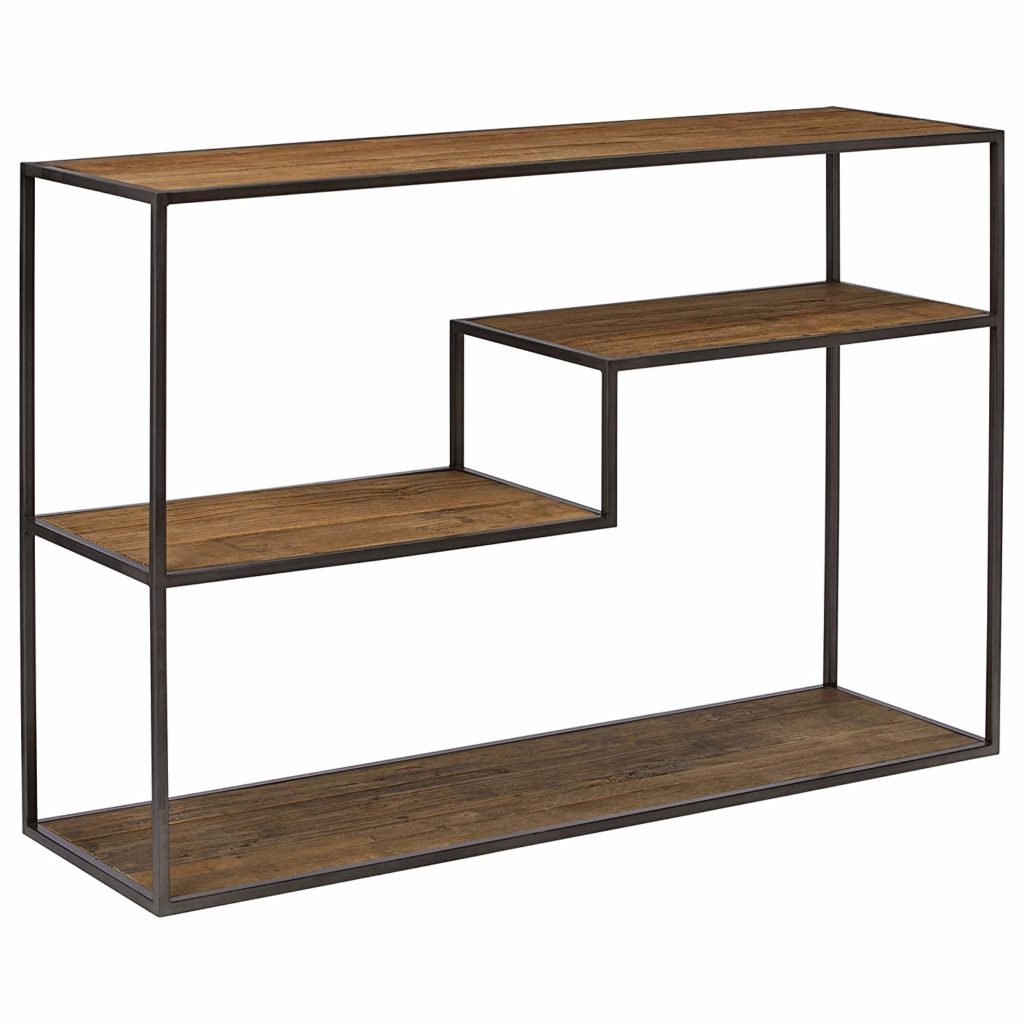 Mid-Century Modern Wood and Metal Bookcase $300.85 https://fave.co/3cEoqtt