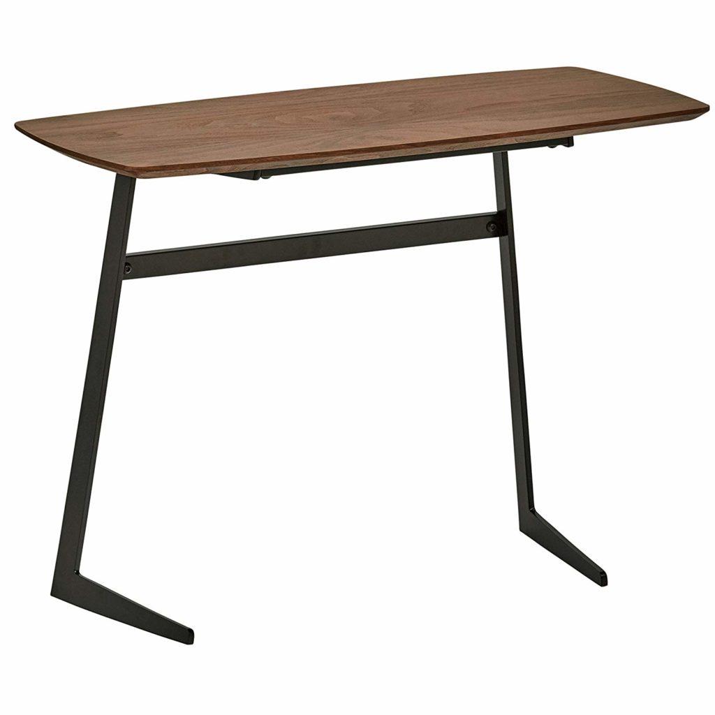 Industrial Modern Wood and Metal Coffee Table $130.76