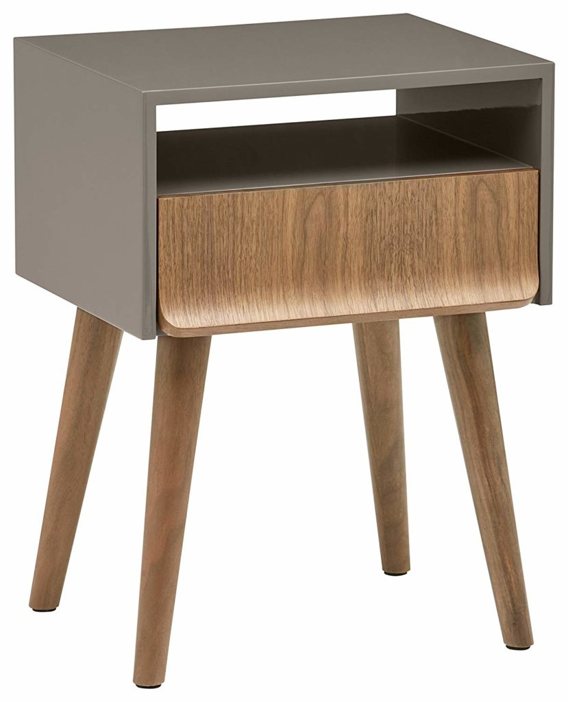 Mid-Century Modern Lacquer Side End Table Nightstand $158.59 https://fave.co/39vO95i