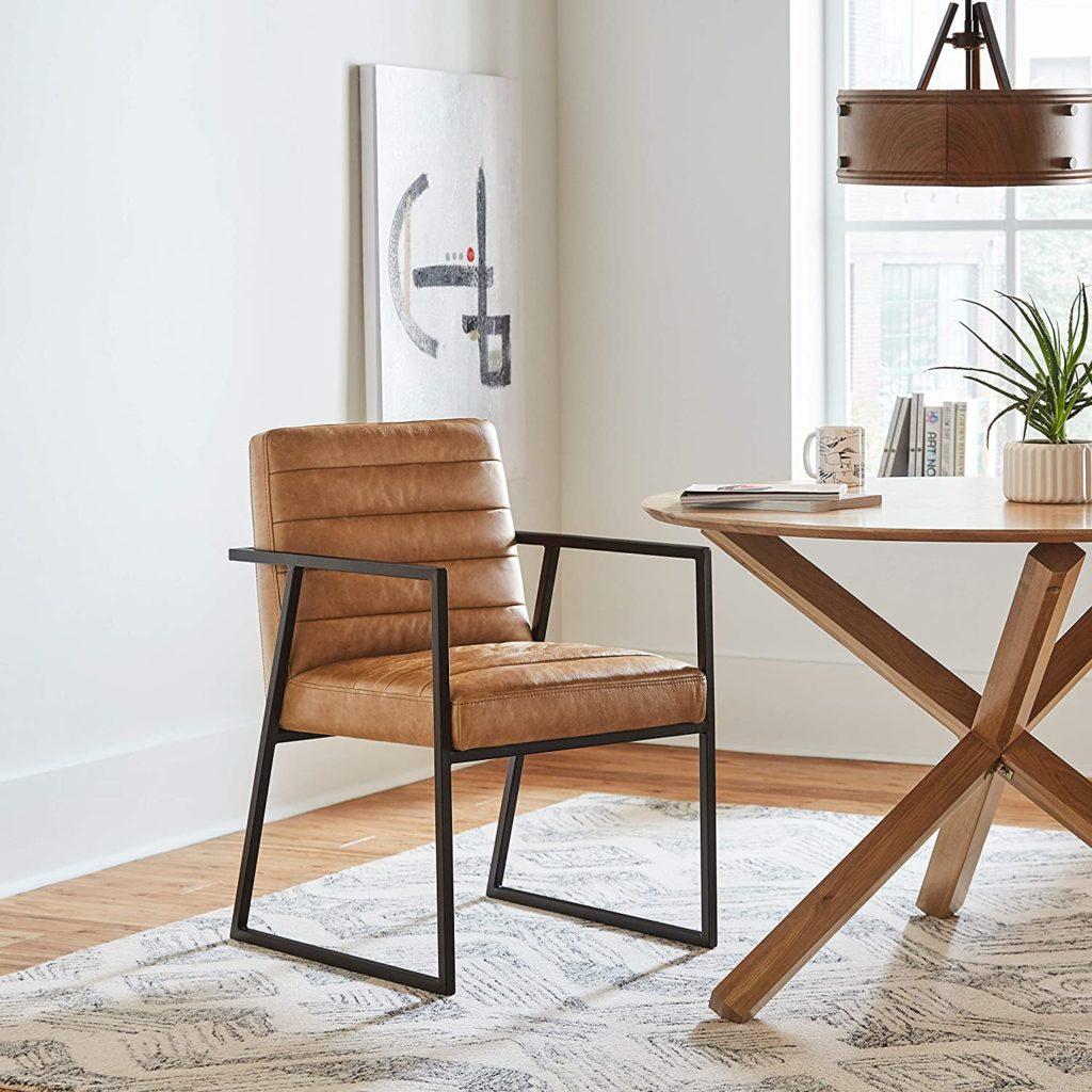 Rivet Allie Industrial Mid-Century Modern Dining Room Kitchen Chair $359.00