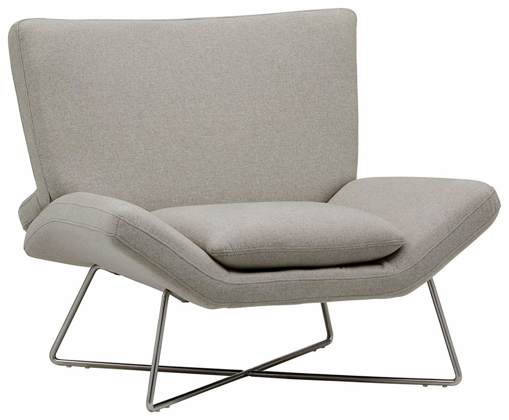 Farr Lotus Accent Chair, Felt Grey $587.38 https://fave.co/2vMk3fj