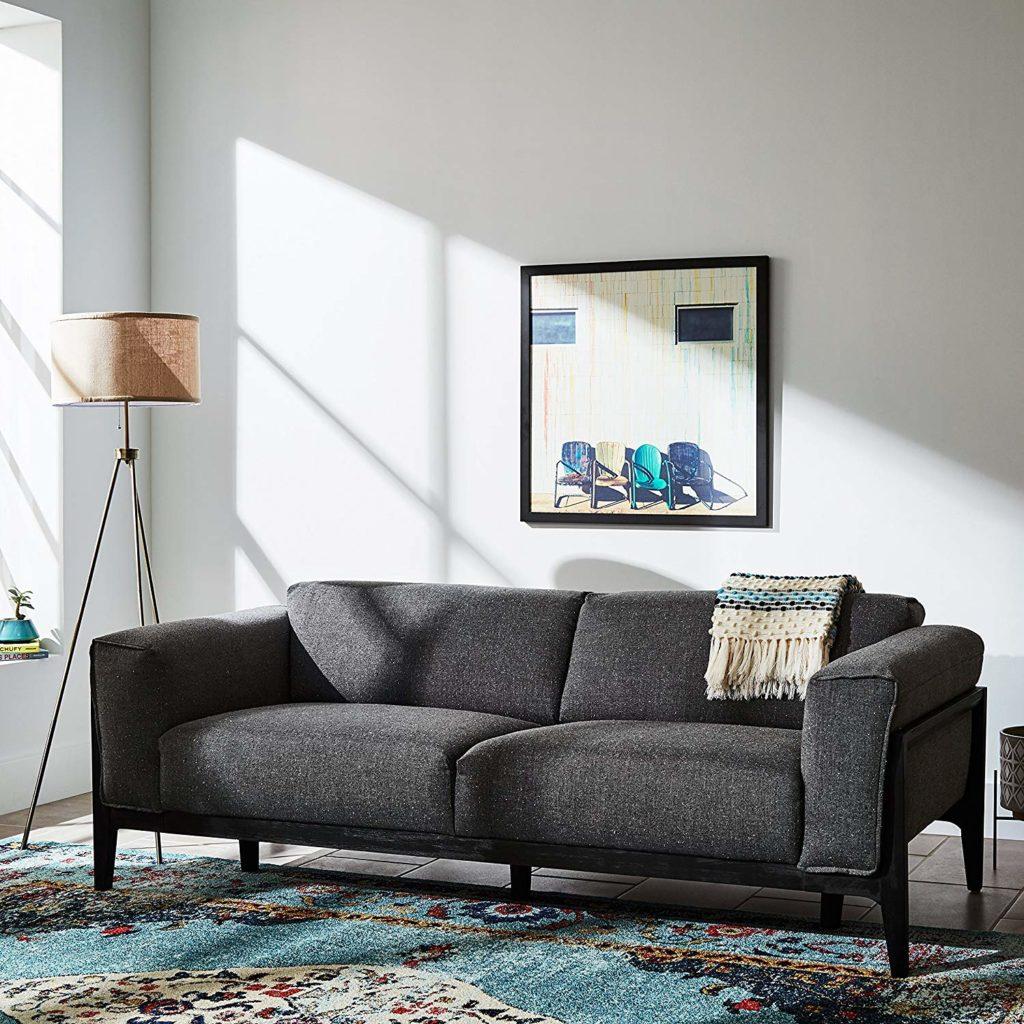 Rivet Mid-Century Modern Tripod Living Room Decor Floor Lamp $72.49 https://fave.co/2VORPey