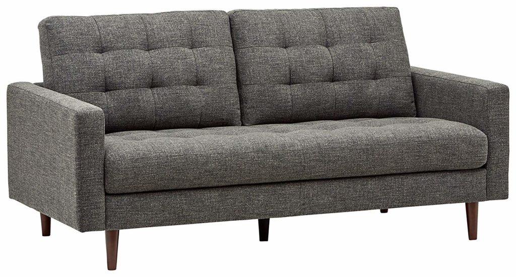 Rivet Cove Mid-Century Modern Tufted Sofa $708.13