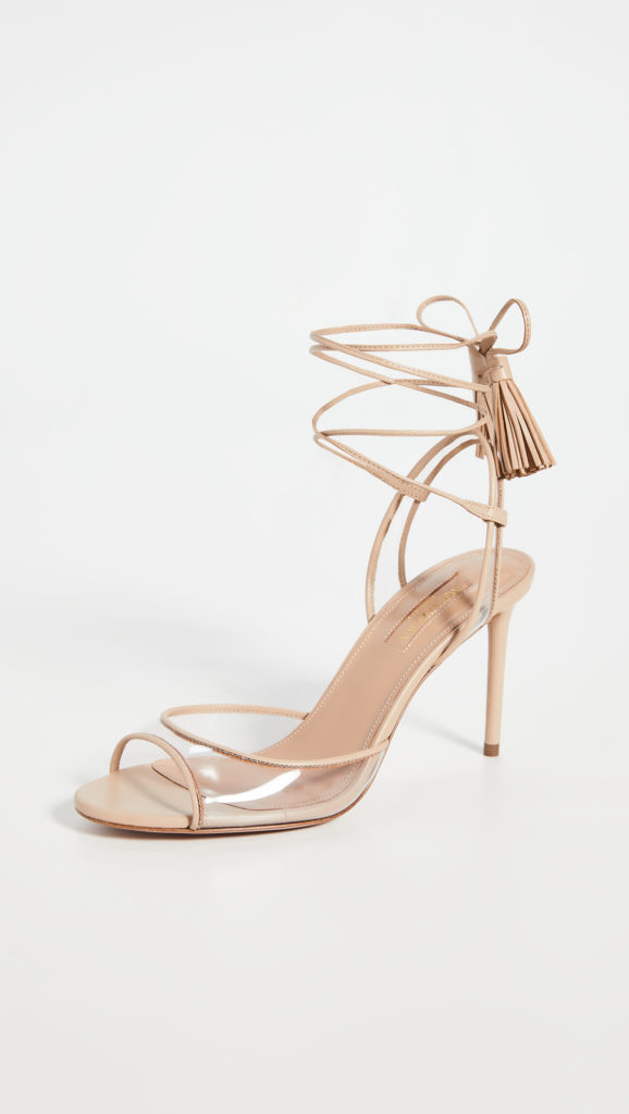Aquazzura Nudist 85mm Sandals $750.00https://fave.co/2U1bfKs