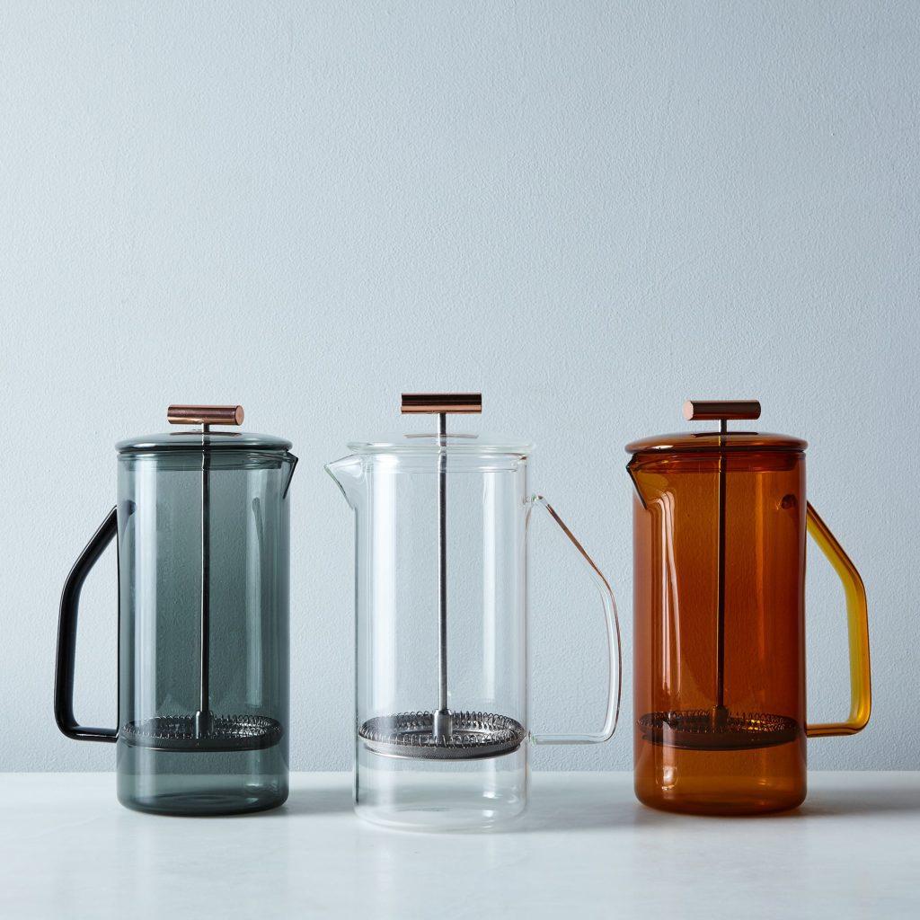 Glass French Press $85