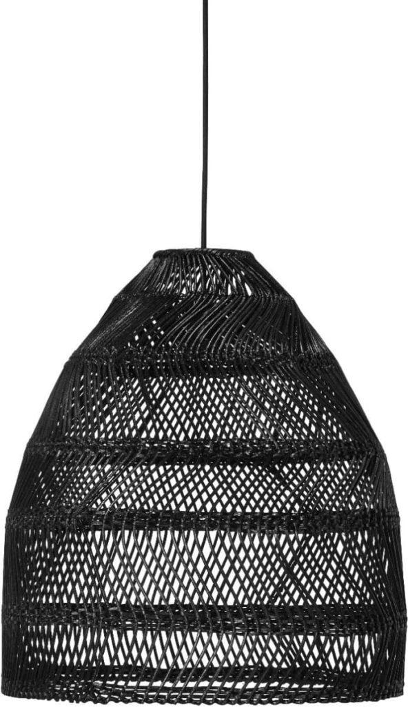 Large Black Rattan Lampshade$244.99