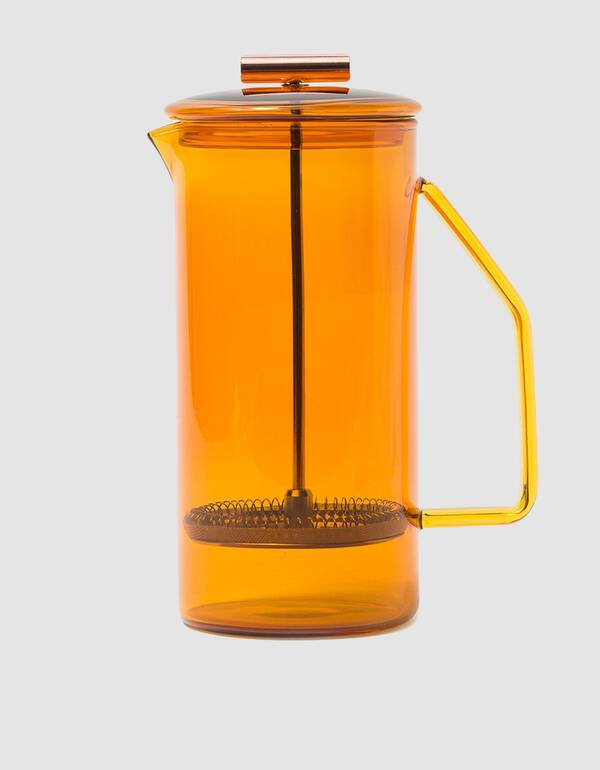 Yield Design 850mL Glass French Press in Amber $63.75
