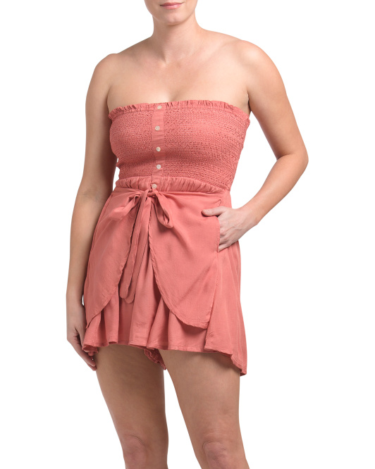 BOHO ME Button Down Short Romper $16.99https://fave.co/2TLFgxN