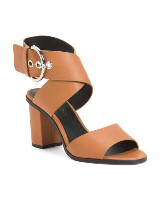 REBECCA MINKOFF Leather Ankle Strap Sandals $49.99https://fave.co/335ck8j