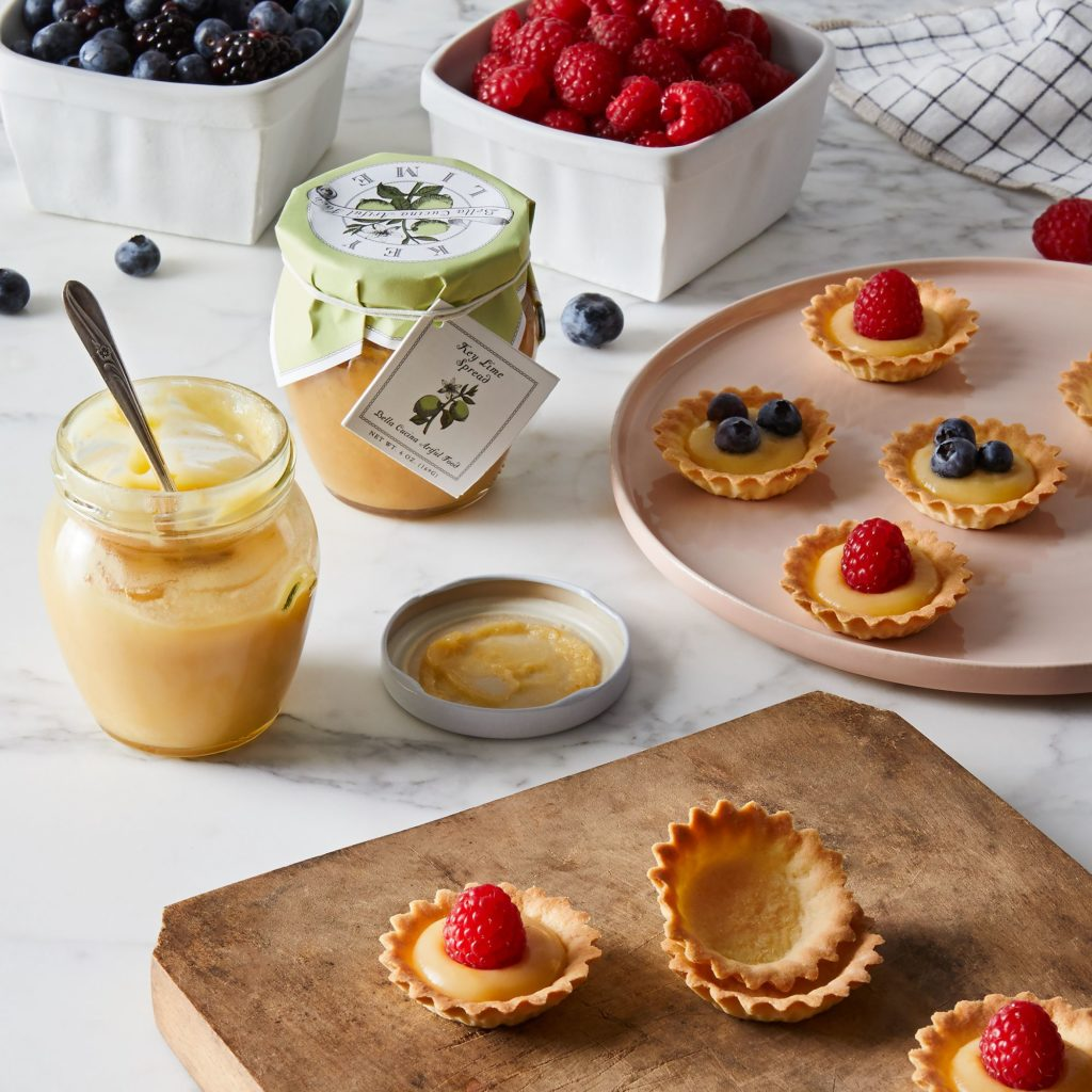 Citrus Spread & Sweet Pastry Tart Set $55