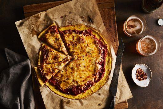 Cauliflower-Crust Pizzaby: EMMA LAPERRUQUE