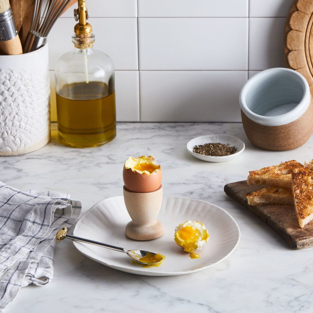 Egg Hammer Spoon & Marble Egg Cup $38–$68https://fave.co/2S5HUyj