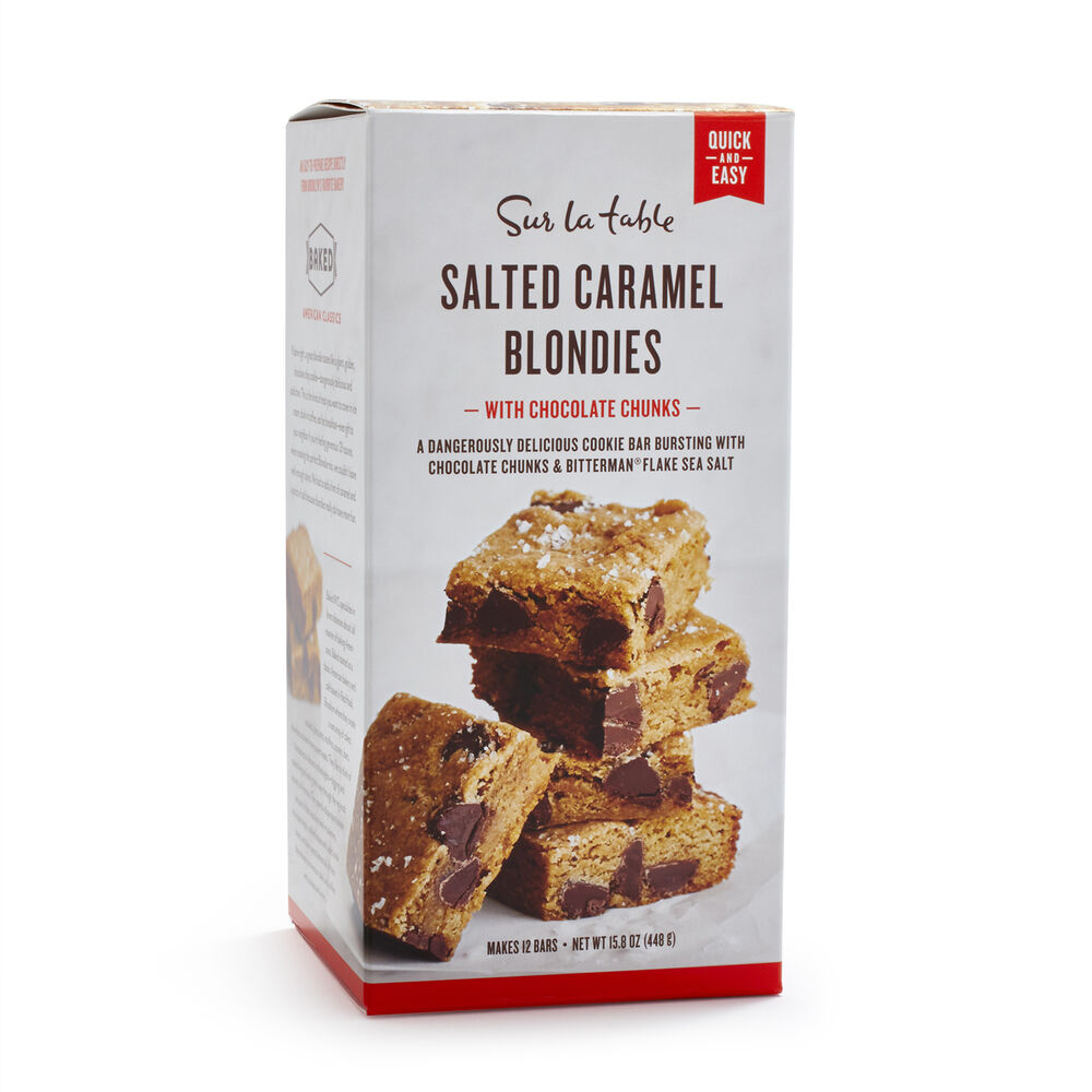 SUR LA TABLE SALTED CARAMEL BLONDIES $12.00