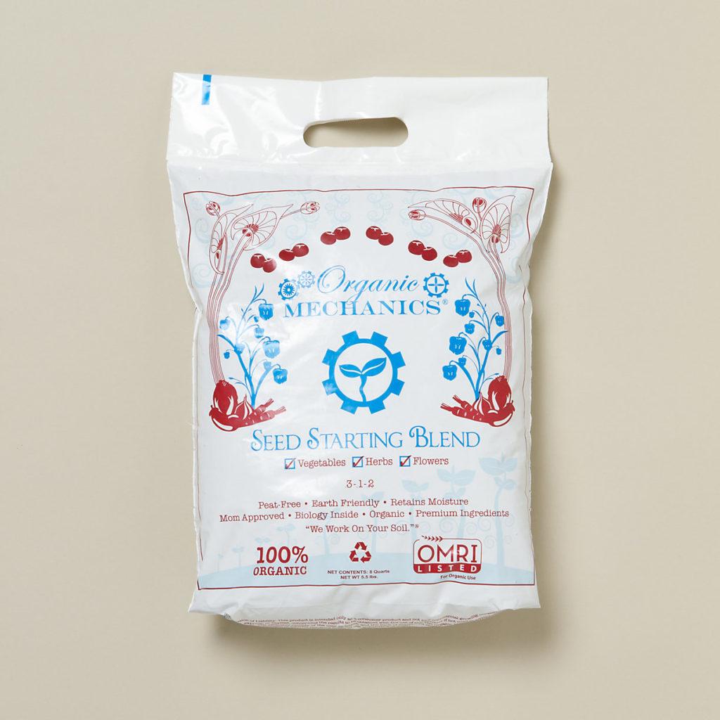 Organic Mechanics Seed Starting Blend $6.00