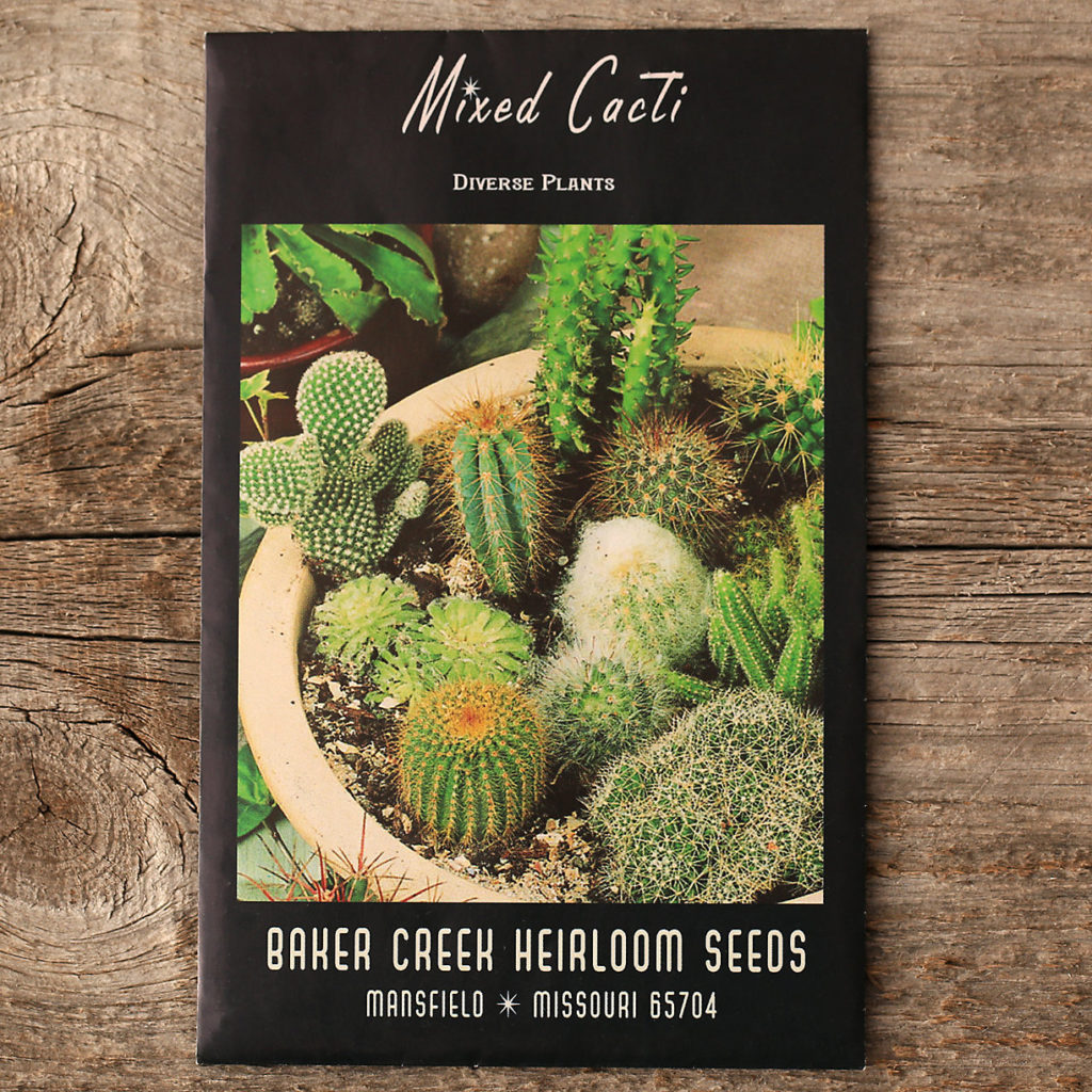 Cactus Mix Seeds $3.00